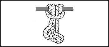 Figure G-11. Prusik, End of Line With Bowline for Safety